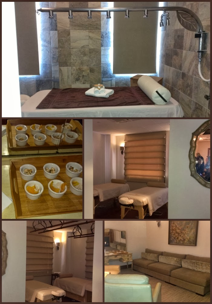 Sage leaf spa at brick canvas review a sparkle of genius for Sage salon