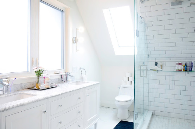 Project Rad: Toronto century home renovation - modern attic loft conversion Master Bathroom |navkbrar.blogspot.com