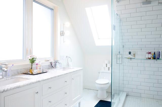 Project Rad: Toronto century home renovation - modern attic loft conversion Master Bathroom |navkbrar.blogspot.com