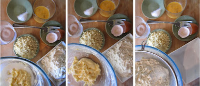 Tarta de pera y manzana (Siempredulces) - Elaboración Paso 3