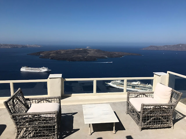Fira, Hotel barato em Santorini com vista