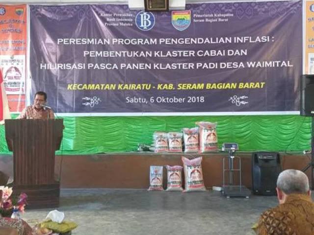 Yasin Payapo dan Bambang Pramasudi Hadiri Launching Beras Gemba di Waimital