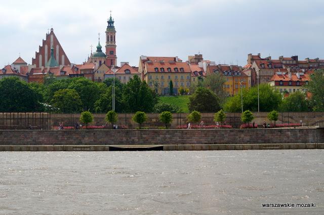 Warsaw miasto Wisła rejs po Wiśle city rok Wisły 2017 tramwaj wodny