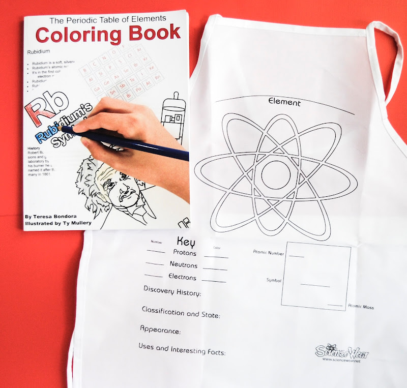 periodic table of element coloring book review the periodic table of elements coloring book was made by teresa bondora teresa is a former high school - Periodic Table Of Elements Review