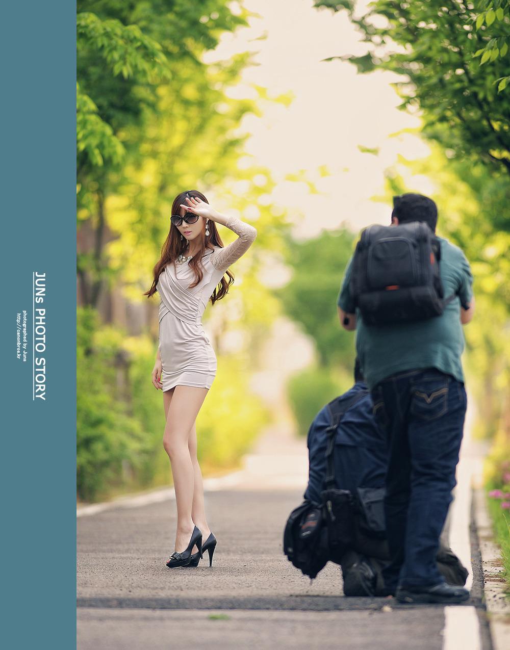Manisnya Model Asal Korea - Pesona Kecantikan Model Seksi