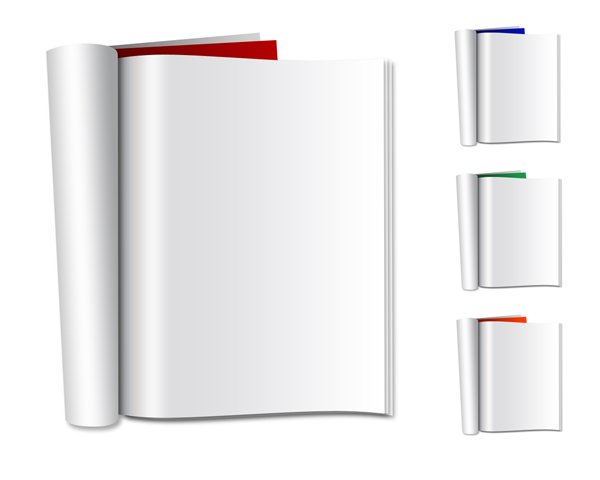 Vector Blank Folded Magazines Free Psd Download Download Free And