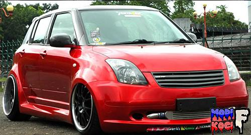 Modifikasi Mobil Suzuki New Swift