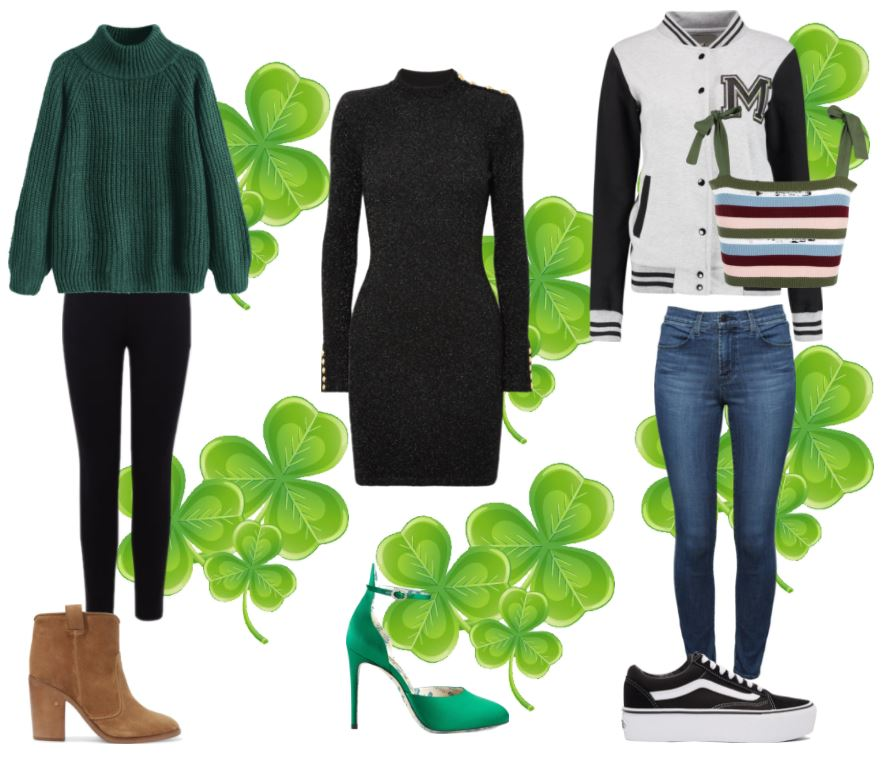 cbb2aad111 Outfit 1 - If you want to rock your green in a subtle way