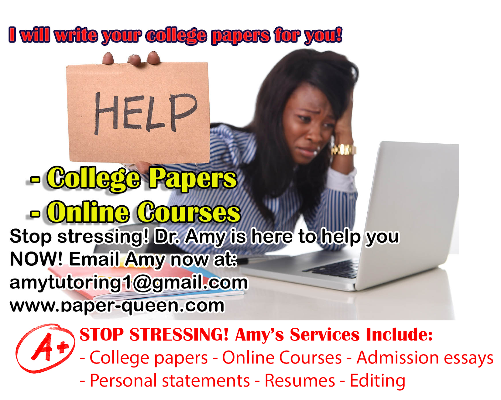 College papers help email