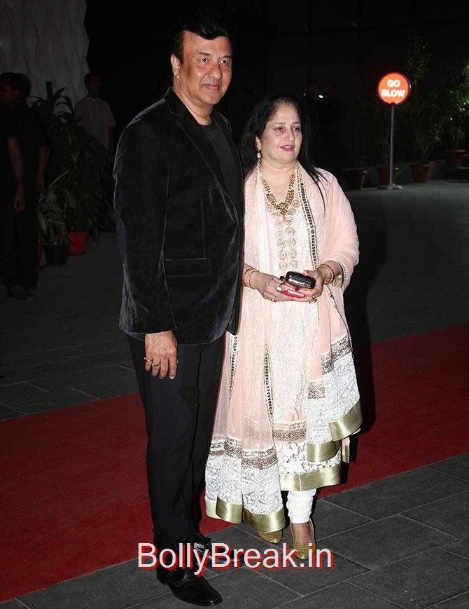 Anu Malik, Anju, Tulsi Kumar Wedding Reception Photo Gallery 2015