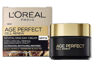 crema para 50 años L'oreal Age perfect