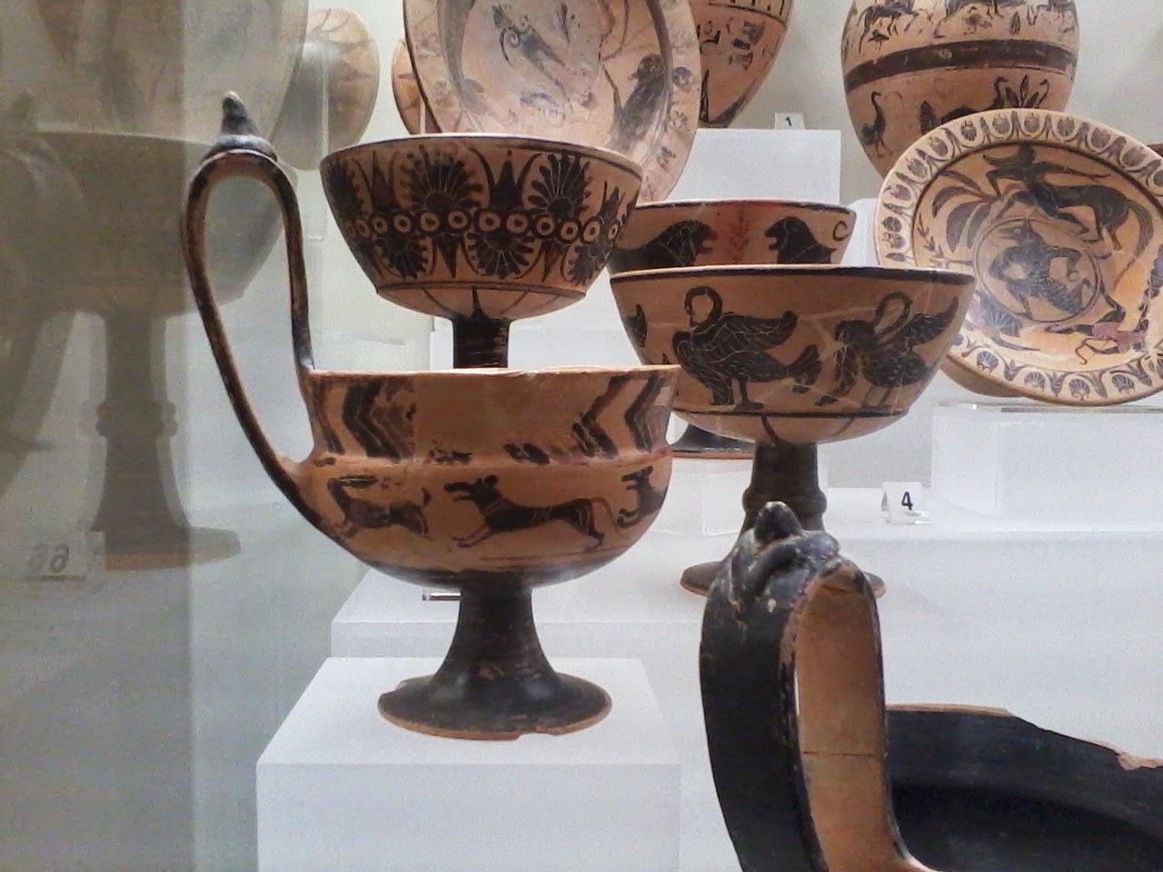 Cerâmica, Museu Etrusco de Roma