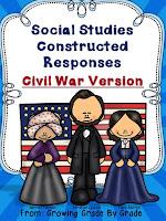Constructed Responses: Civil War Version