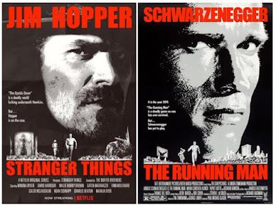 Pósters de películas Stranger Things - Perseguido