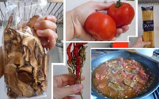 MACARRAO - Receita de Molho para Picchiarelli (típico do território da Umbria)