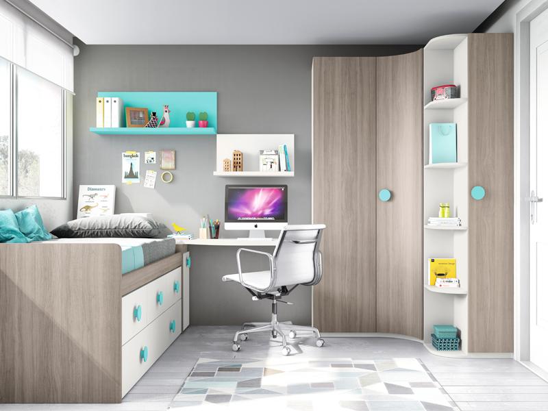 Blog dormitorios juveniles com armarios de rinc n para - Armario para habitacion ...