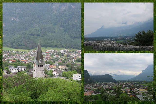 Views of Balzers, Liechtenstein