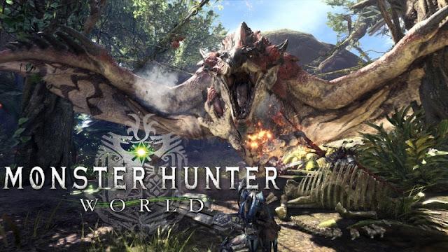 جهاز PS4 ينفذ من المتاجر اليابانية بسبب لعبة Monster Hunter: World