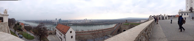 Panoramic of Bratislava