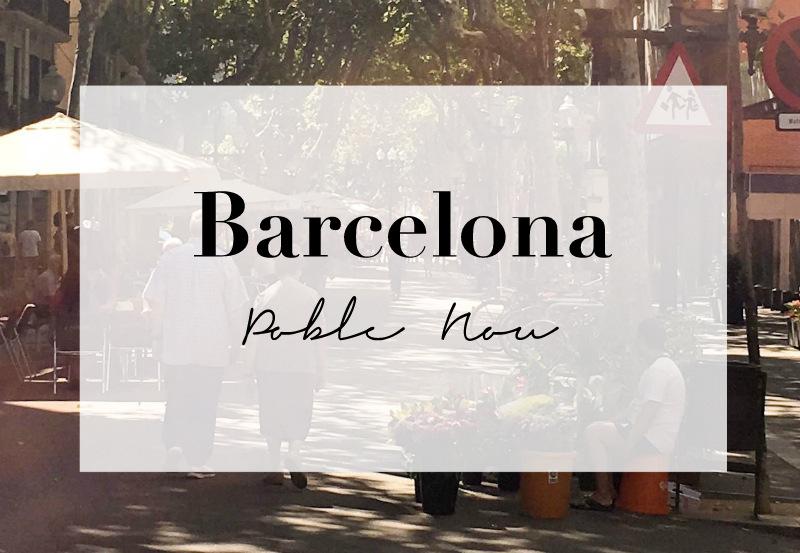 Barcelona Poble Nou Rambla del Poble Nou