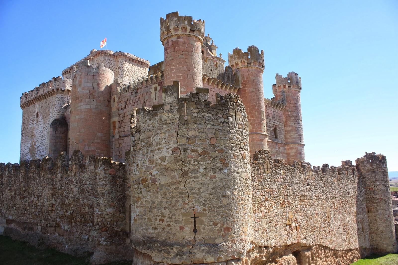 ruta en moto para ver el Castillo de Turegano