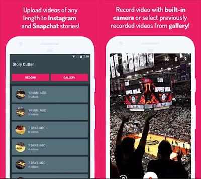 aplikasi potong video untuk insta story