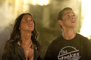 Shia LaBeouf and Megan Fox in Transformers (2007)