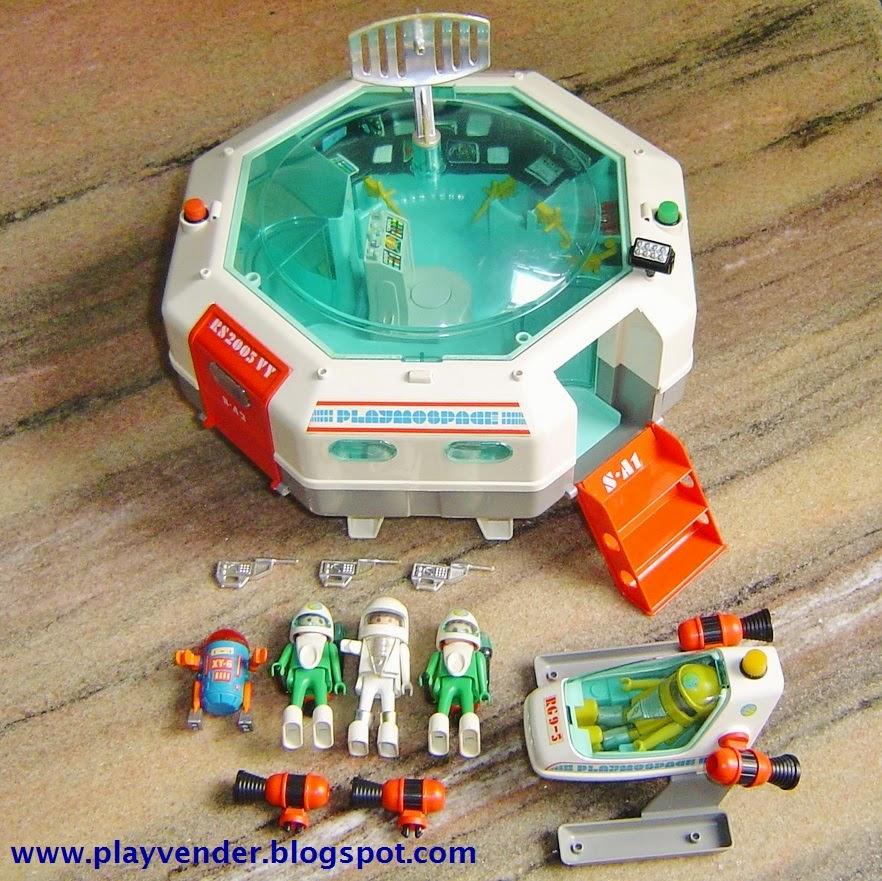Nave playmospace for Nave espacial playmobil