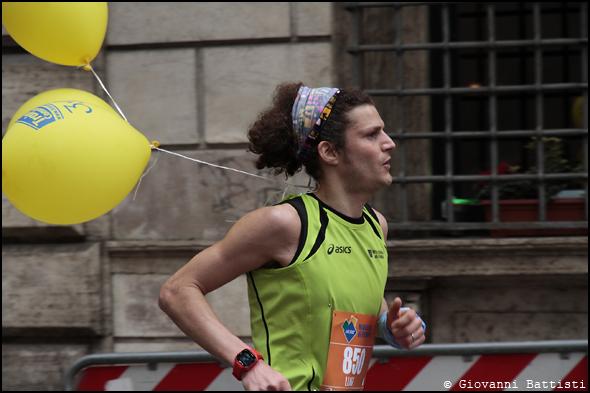 Fotografia di Manfrini Luigi alla Maratona di Roma 2013