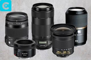 Macam - Macam Lensa Kamera DSLR Beserta Fungsinya