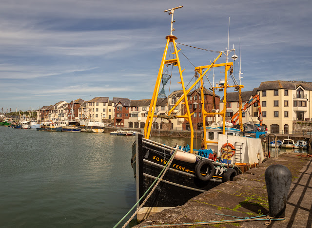 Photo of another fishing boat in Maryport Harbour