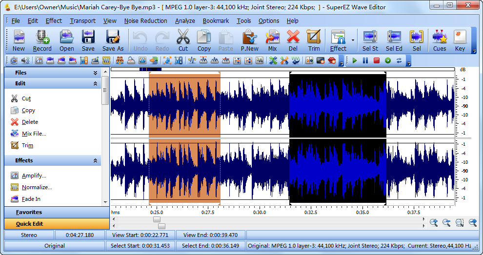 Download SuperEZ Wave Editor Pro 12.2.1