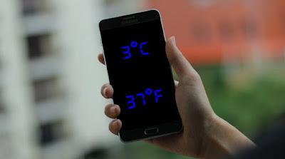 Cara Mengukur Suhu Ruangan Melalui Android