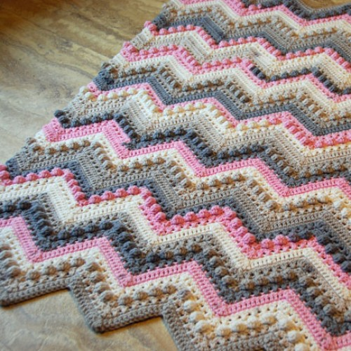 Crochet Hugs & Kisses Baby Blanket - Free Pattern