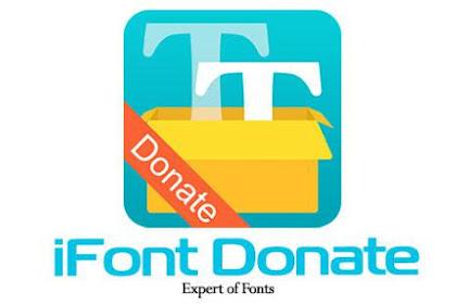 iFont Donate Full Apk v5.8.1 Terbaru