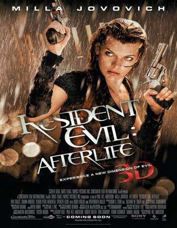 Poster Of Resident Evil Afterlife 2010 Hindi Dual Audio 450MB BRRip 720p HEVC Free Download Watch Online downloadhub.in