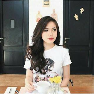 model baju kaos wanita warna putih