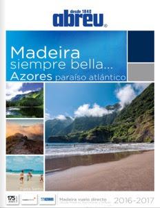 Madeira y Azores Catálogo Abreu Viajes