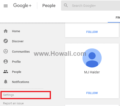 How to Delete my Google Plus Account but keep Gmail - Howali com