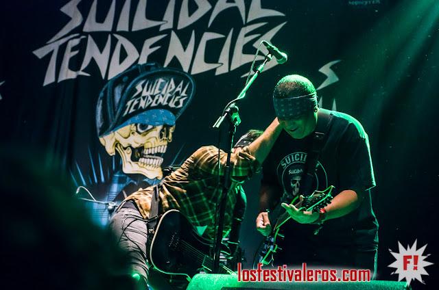 Suicidal Tendencies, Gasteiz Calling 2018