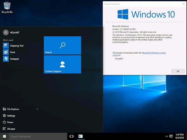 Windows 10 Enterprise LTSB 3264 bit ISO Free Download