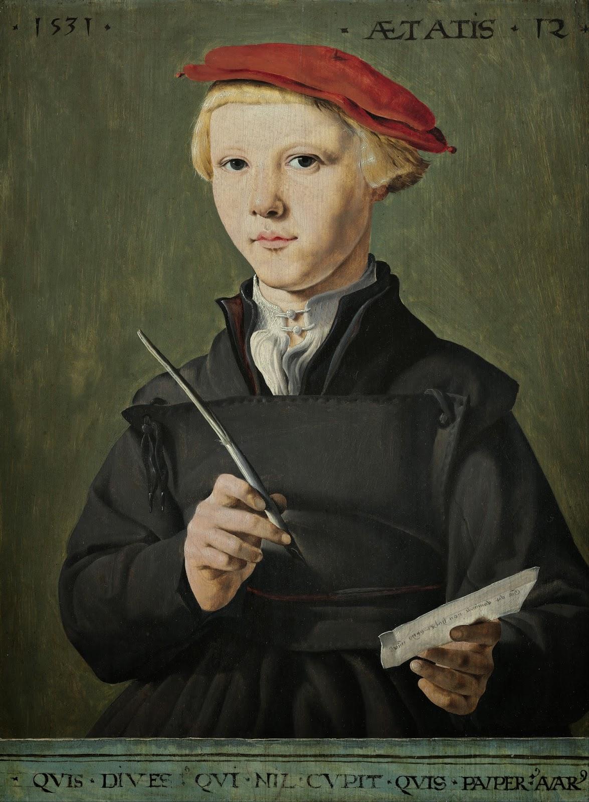 Jan van Scorel ritrattista