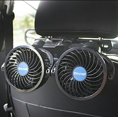 Mitchell Cooling Fans for Car Rear Seats