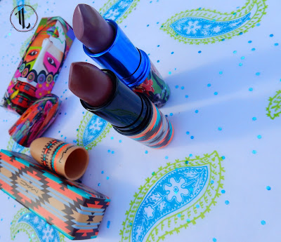 M.A.C 'Hot Chocolate' and 'Plum Princess' - www.modenmakeup.com