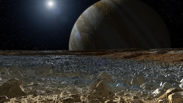 surface of europa