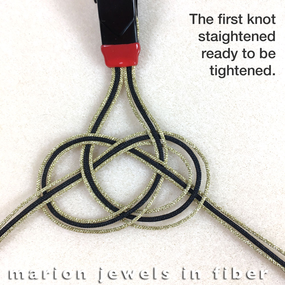 Marion Jewels in Fiber - News and Such: Celtic Bracelet DIY