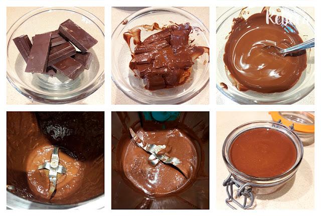 Receta de crema de chocolate y avellanas 03