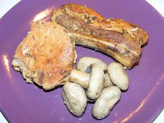friptura la cuptor, friptura de porc, carne de porc cu ciuperci la cuptor in sos de vin, retete culinare, retete de mancare, mancaruri cu carne,