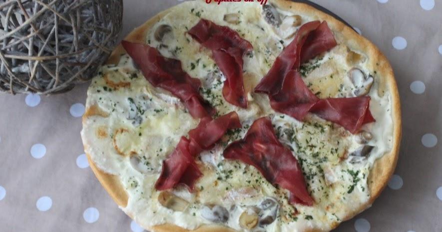 papilles on pizza aux chignons mont d or et bresaola au thermomix ou en map