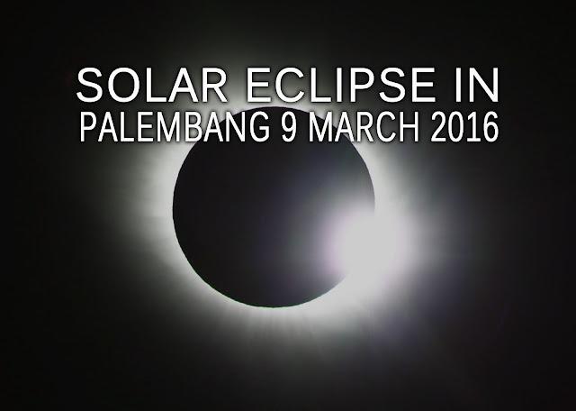 Palembang Solar Eclipse